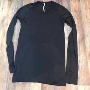 Lululemon Swifty Tech Long Sleeve Black